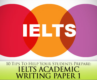 IELTS Academic Writing Paper 1: 10 Tips To Help Your Students Prepare