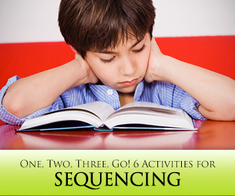 One, Two, Three, Go! 6 Activities for Sequencing