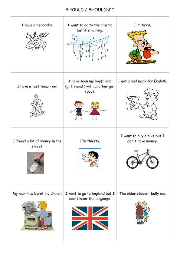 Printable Worksheets should worksheets : and Shouldn't