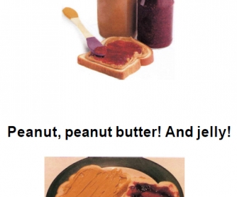 Song Worksheet: Peanut Butter & Jelly