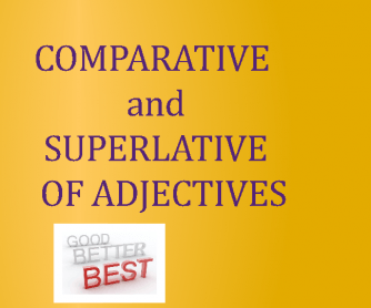 Comparative/Superlative