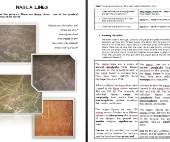 "The Mystery of ""Nasca Lines"" (Listening/Reading Activity)"