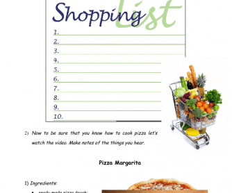 82 free cooking worksheets movie worksheet cooking pizza forumfinder Choice Image