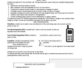 U.S. School Discipline (High School)