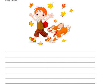 Creative Writing - Autumn Walk