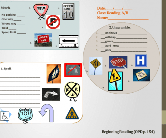 Traffic Signs Reading for Beginners