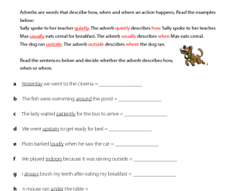 Adverb - BusyTeacher: Free Printable Worksheets For Busy English