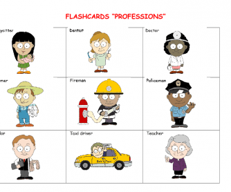 Flashcards- Professions