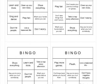 Imperative Bingo