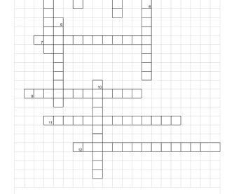 Crossword - My City