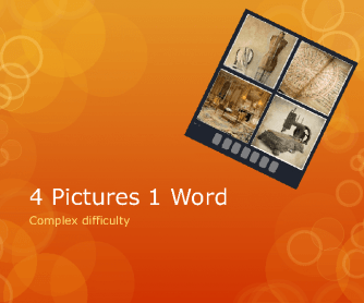 4 Pictures 1 Word - Difficult