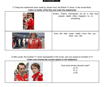 Movie Worksheet: Rush
