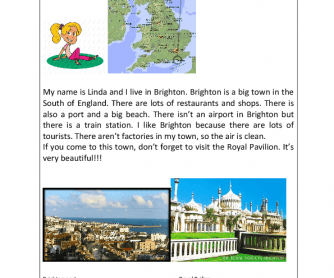 Reading about Brighton
