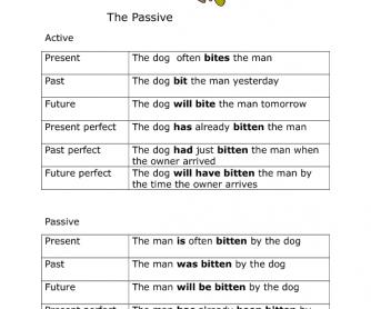 Active Passive Summary
