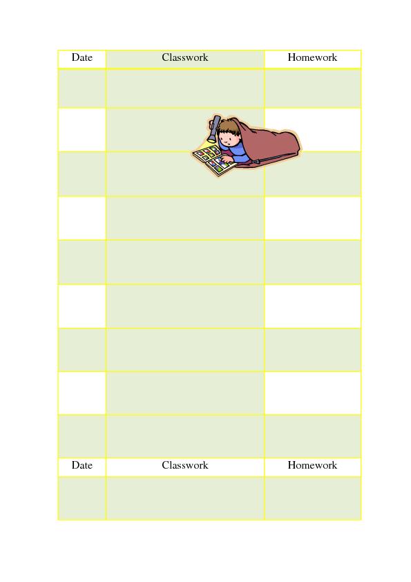Teacher homework