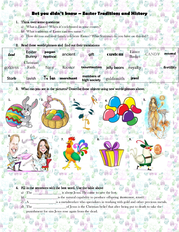 67 FREE Easter Worksheets, Printables, Coloring Pages & Lesson Ideas