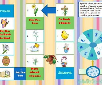 Easter Interactive Boardgame