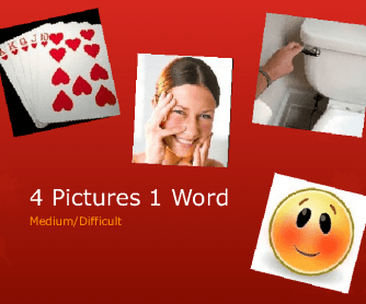 4 Pictures 1 Word - Medium, Difficult