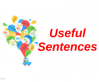 Useful Sentences