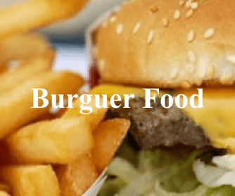 Burger Food Presentation