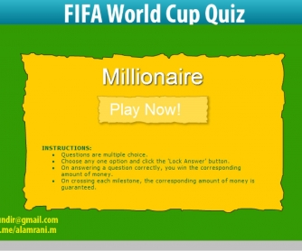 World Cup Millionaire (Interactive PDF)