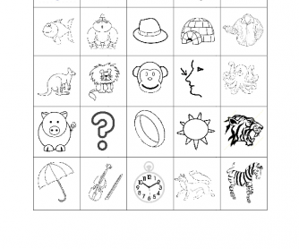 Alphabet Phonics Bingo