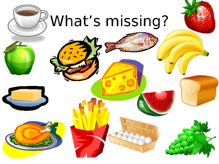 What 39 s missing food game for Food bar games free online
