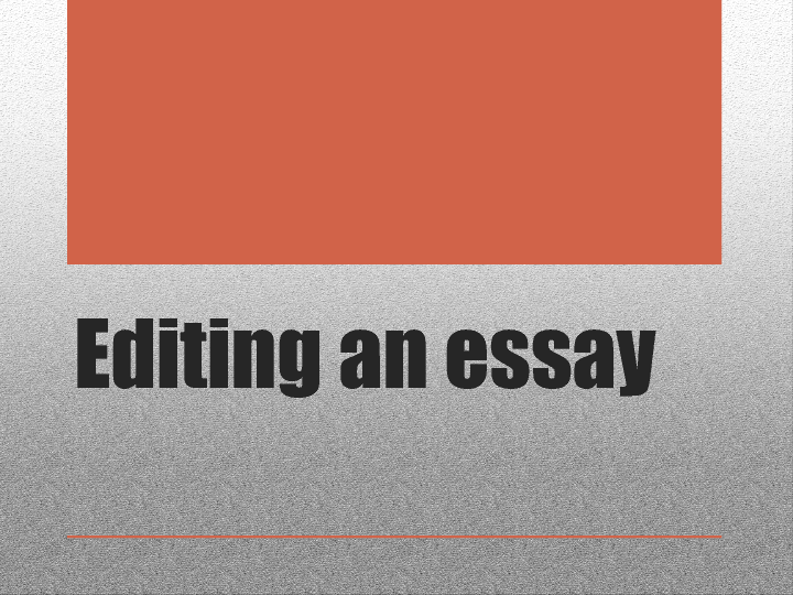 "proofreading an essay Feel like polishing your essay by the competent paper editor and essay proofreader well-established ""edit my paper"" company provides qualified editing and."