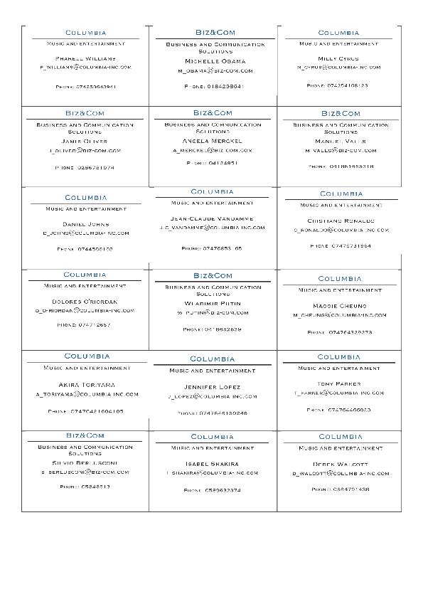 46 FREE Telephones Worksheets