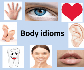 Body Part İdioms