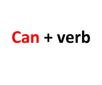 Can (Present Simple)