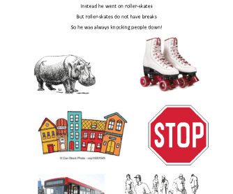 Song Worksheet: Hippopotamus Song