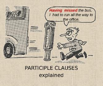 participle clauses exercises advanced level pdf