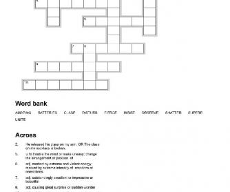 Vocabulary Grade 4/5 #8B
