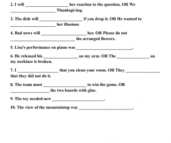 Vocabulary Grade 4/5 #8C