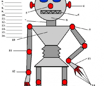 Johnny the Robot - Body Parts