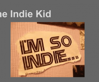 The Indie Kid: Youth Tribes