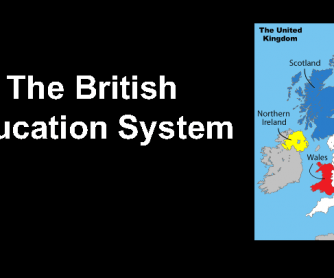 The Education System in the United Kingdom (Advanced)