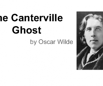 An Introduction to the Canterville Ghost by Oscar Wilde