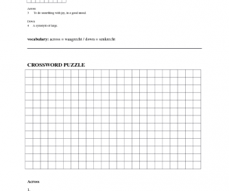 Crossword (Do-It-Yourself)