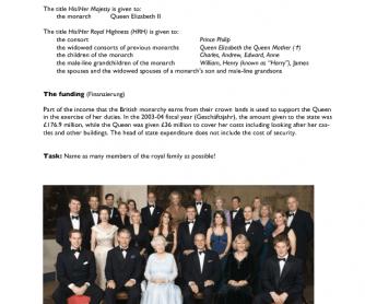 The British Royal Family 1 (1-5)