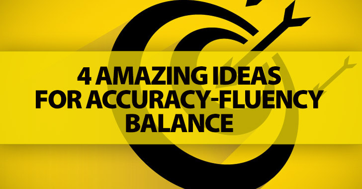 The Eternal Battle of Accuracy vs Fluency: It's Not About The Winner