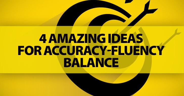 The Eternal Battle of Accuracy vs Fluency: It's Not About The Winner