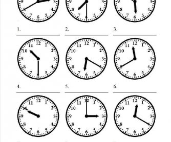 Printables What Time Is It Worksheet 122 free telling time worksheets and activities the worksheet