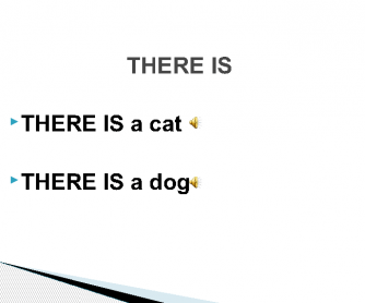 There Is - There Are