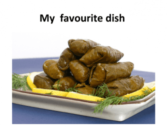 My Favourite Dish