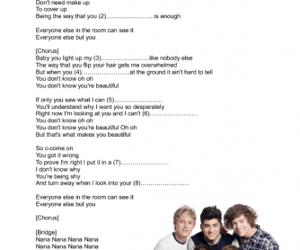 Song lyrics if it makes you happy