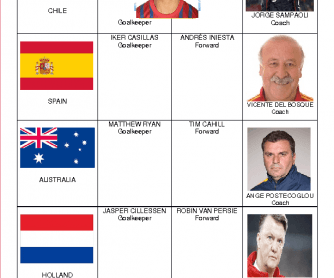 Football World Cup Predictions Game