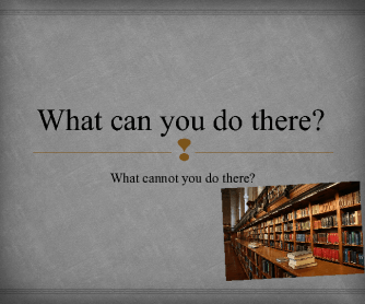 What Can You Do In...?