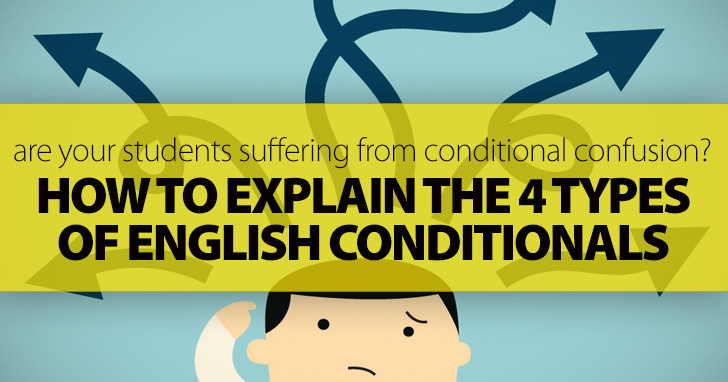 Are Your Students Suffering From Conditional Confusion?: 4 Simple Steps To Explain The 4 Types Of English Conditionals